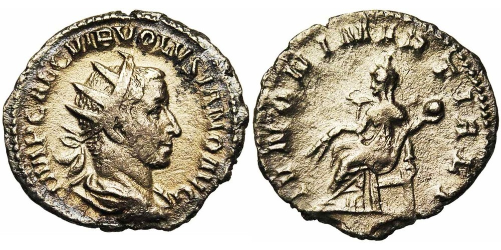 157. VOLUSIEN (251-253). TB (VF) €75