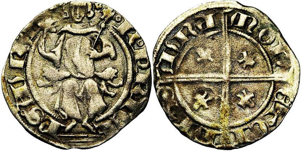 370. FRANCE, ORANGE, Raymond IV (1340-1393). pr. TB (a. VF) €100