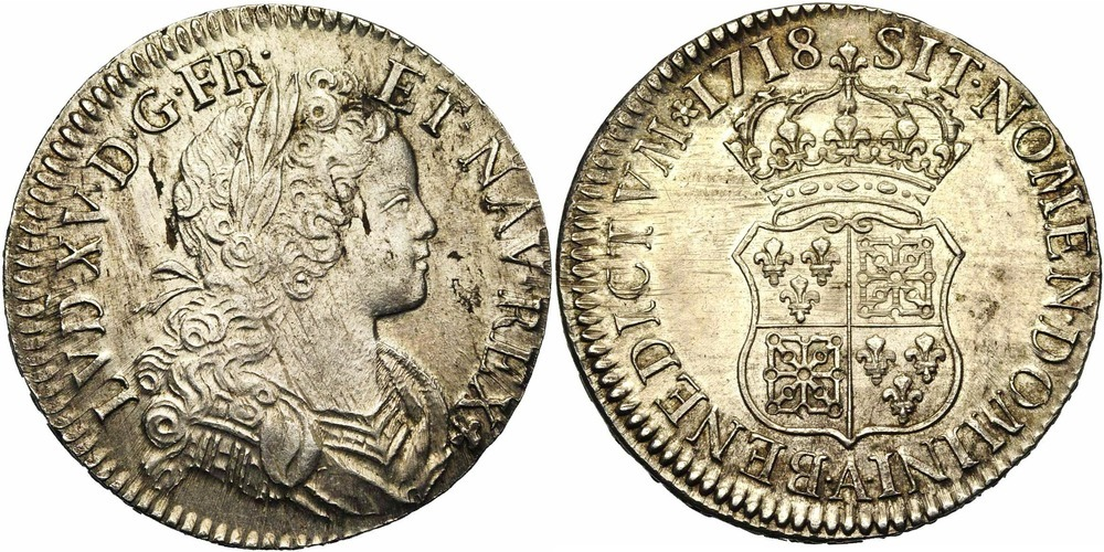 695. FRANCE, Louis XV (1715-1774). SUP (EF) €1050