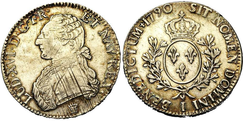 699. FRANCE, Louis XVI (1774-1793). TB à SUP (VF - EF) €125