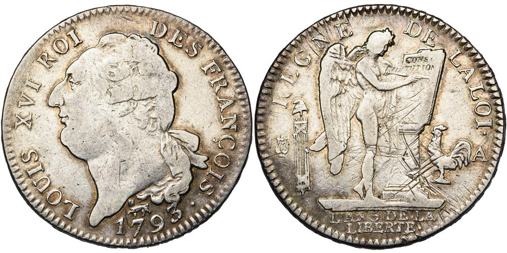 712. FRANCE, Convention (1792-1795). TB (VF) €175