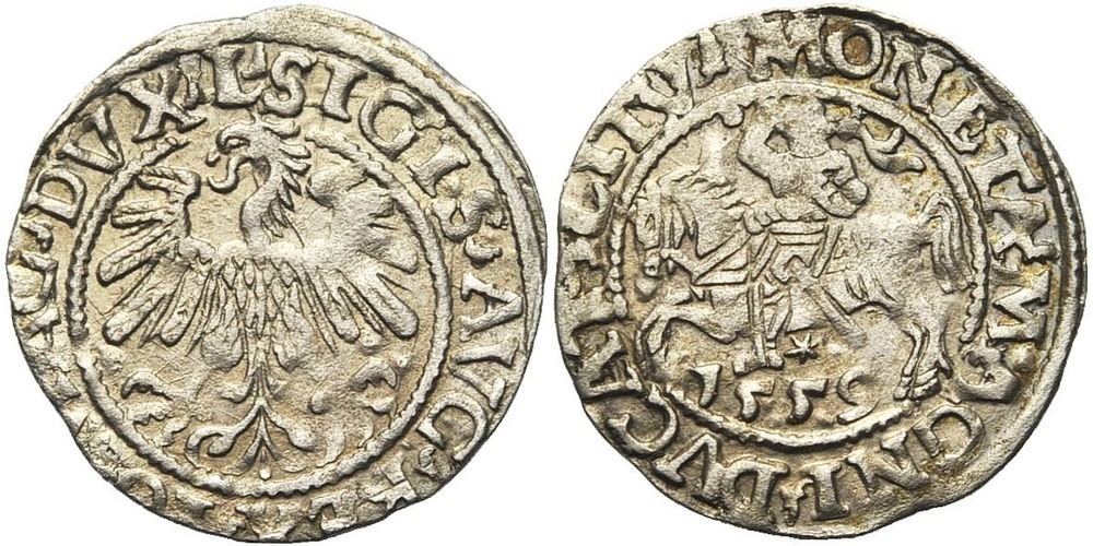 1833. POLOGNE, Sigismond II Auguste (1544-1572). SUP (EF) €30