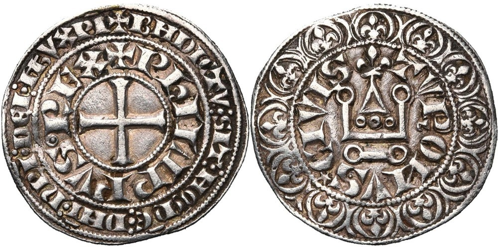 392. FRANCE, Philippe IV le Bel (1285-1314). TB à SUP (VF - EF) €200