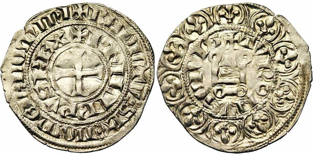 489. FRANCE, Philippe IV le Bel (1285-1314). pr. SUP (a. EF) €175