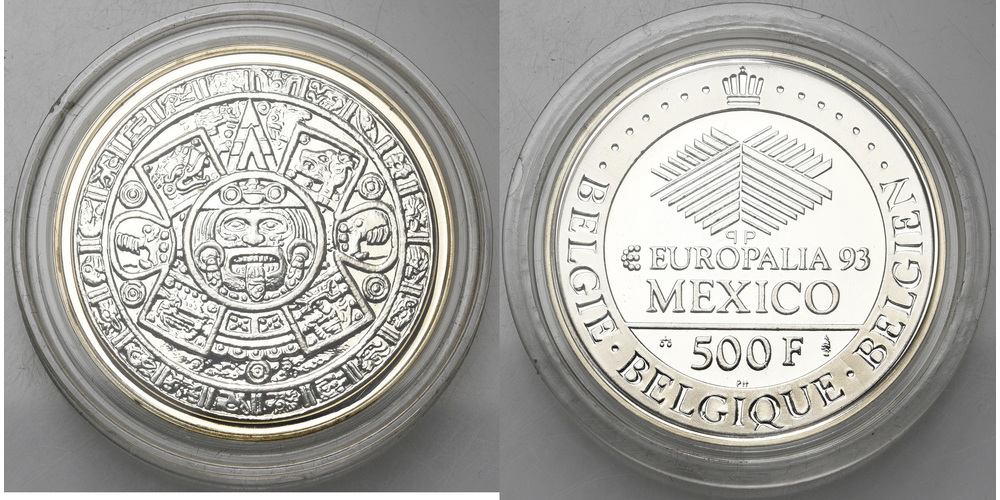 1110. BELGIQUE, Albert II (1993-2013). FP (Proof) €25