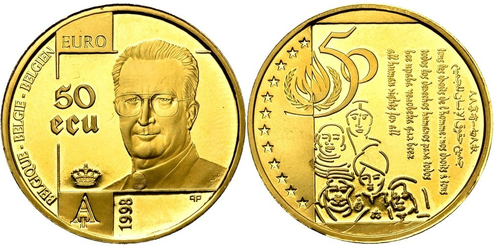 628. BELGIQUE, Albert II (1993-2013). FP (Proof) € 700