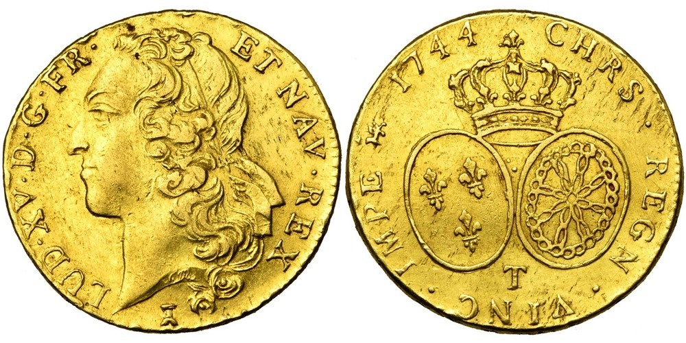 705. FRANCE, Louis XV (1715-1774). TB (VF) € 1100