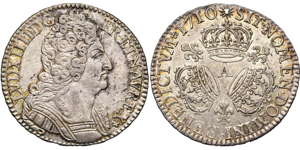 771. FRANCE, Louis XIV (1643-1715). TB à SUP (VF - EF) € 400