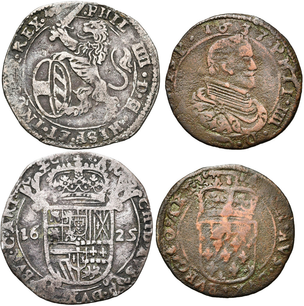 1674. ARTOIS, Philippe IV (1621-1640), lot. TB et B (VF and F) € 100