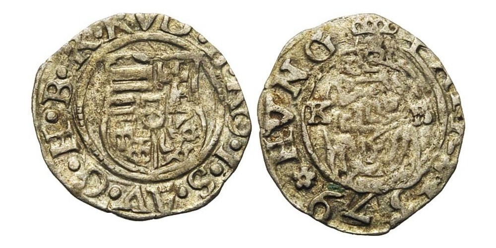 1005. SAINT EMPIRE, Rodolphe II (1576-1612). TB (VF) €8