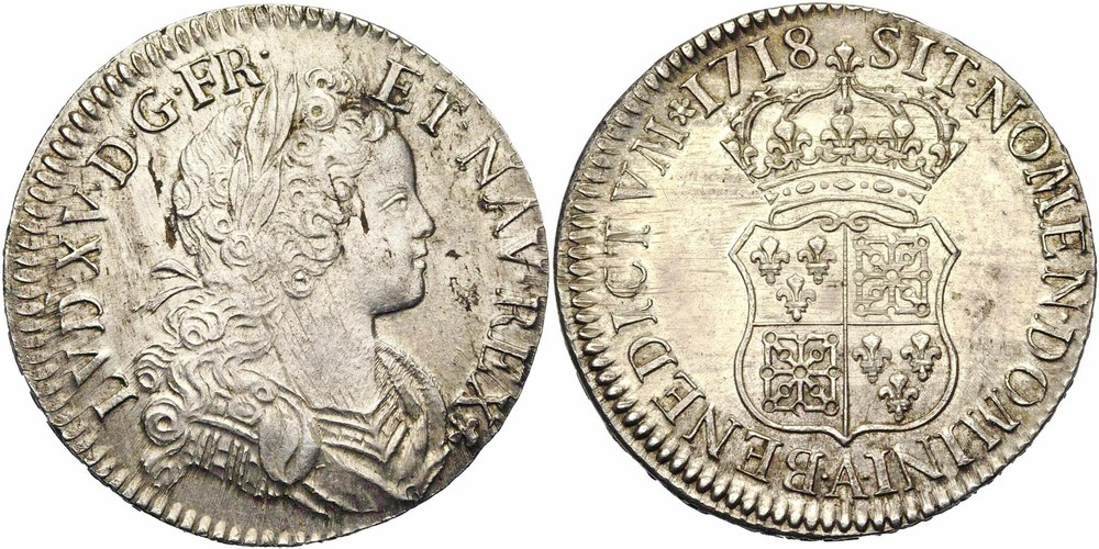818. FRANCE, Louis XV (1715-1774). SUP (EF) €1050