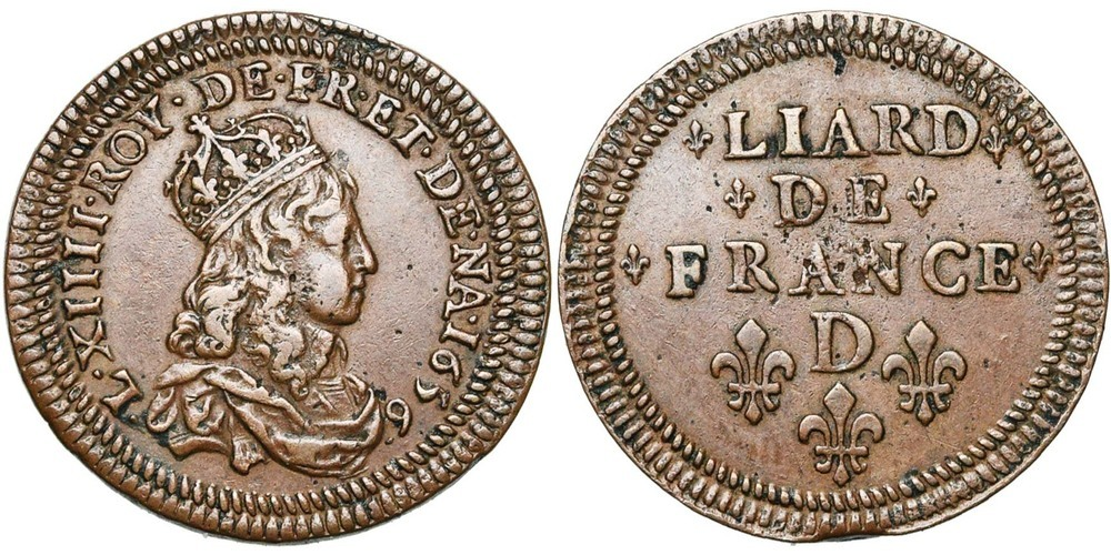1242. FRANCE, Louis XIV (1643-1715). TB à SUP (VF - EF) €400