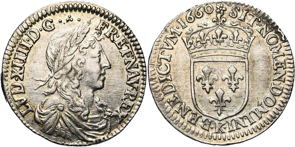 1296. FRANCE, Louis XIV (1643-1715). TB à SUP (VF - EF) €75