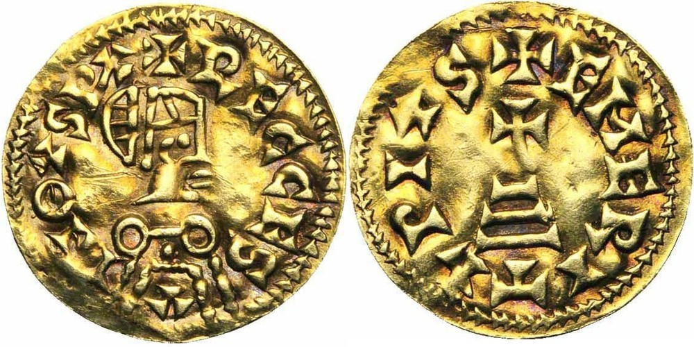 261. WISIGOTHS, Recceswinth (649-672). TB à SUP (VF - EF) € 2750