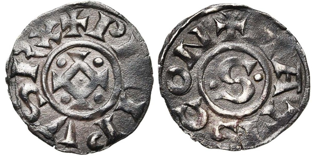 348. FRANCE, Philippe Ier (1060-1108). TB (VF) € 160